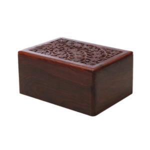 Butterworth Tun Wood Carved Urn