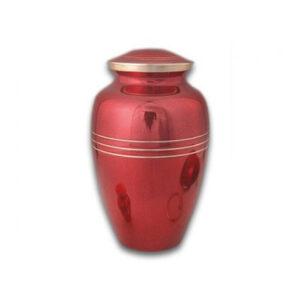 classic red urn