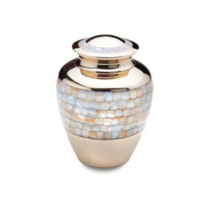 mother pearl urn